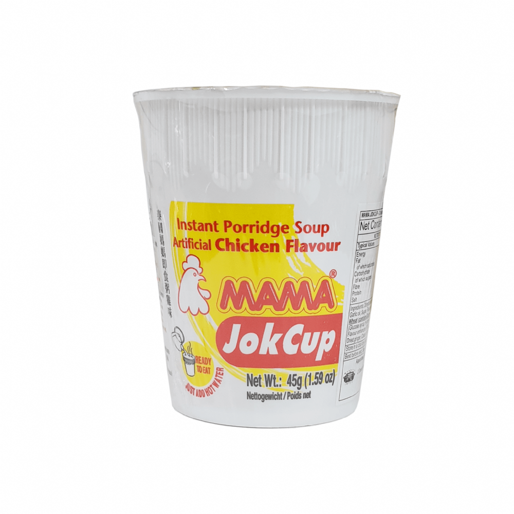 Mama Jok Cup Rice Porridge Chicken Flavour 45g